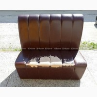 Диваны бу в кафе ресторан, коричневые диваны, мягкая мебель бу для бара