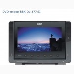 Автомобільний портативний DVD плеєр BBK DL-377 SI Black, новый