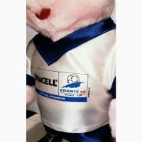 Заяц Duracell с мячем ЧМ по футболу во Франции 1998. 35 см. Ексклюзив