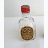 Винтажная коллекционная мини-бутылка 30мл (пустая) 3