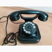 Раритет 1923 год телефон Siemens Tischapparat W28 Германия рабочий