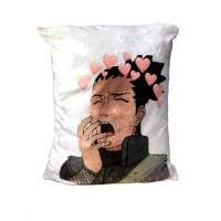 Подушка Шикамару аниме Наруто подарок для отаку