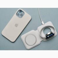 Беспроводная зарядка MagSafe Duo Charger Двойное беспроводное зарядное устройство Apple