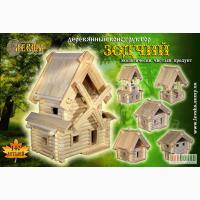 Деревянный конструктор Деревянные игрушки ТМ Левша