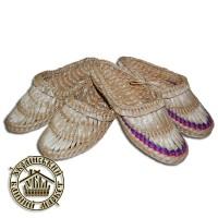 Лапти плетеные