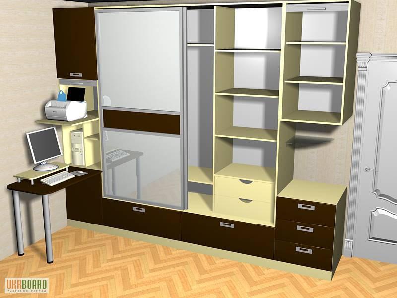 Фото к объявлению: шкафы-купе, застройка ниш - ukrboard.khar.