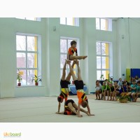 Акробатика для детей от 4 лет.