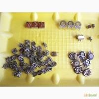 Переменные резисторы (подстроечные).