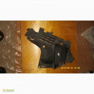 Защита бампера переднего левая LOGAN (1) б/у оригинал