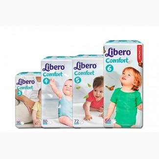 Подгузники Libero либеро бэби софт, Comfort, UpGo, трусики, Скидки акции