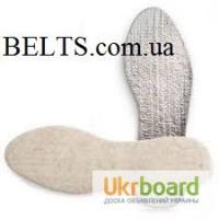 Украина.Теплые стельки для обуви «Термос» (лён с аллюминиевой фольгой)
