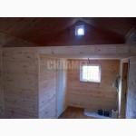 Лофт-домик деревянный, каркасный дачный дом