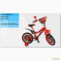 Велосипед 2-х колесный 14 дюймов Тачки для мальчика
