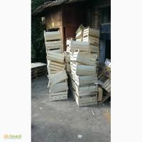 Деревянные ящики для яблок