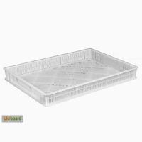 Пищевой пластиковый ящик 600х400х70