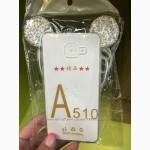 Силиконовый 3D чехол со стразами Ушки Микки Маус Зайчик Meizu Note 3 Xiaomi mi4 Note 3