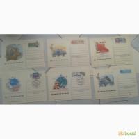 Почтовая карточка, конверт ШПД КПД Олимпиада-80 разные чистые 26 шт
