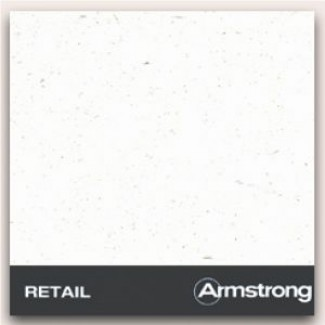 Плита RETAIL Plain 600*600*12мм/14мм|подвесной потолок Armstrong