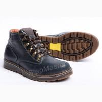 Ботинки кожаные мужские зимние Levis Legio Denim