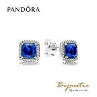 Pandora серьги вечная элегантность 290591NBT