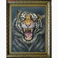 Картина автора Тигр-пастель, 32х25