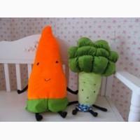 Мягкая игрушка морковка для деток