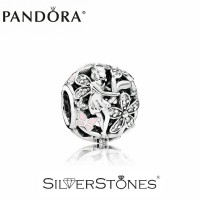 Скидки! Оригинал Pandora Пандора шарм бусина Цветочная фея арт. 791841EN68