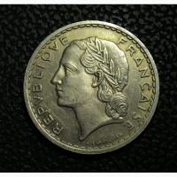Франция 5 франков 1935 год НИКЕЛЬ!!! ОТЛИЧНАЯ