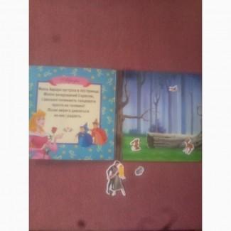 Книжка с магнитными рисунками