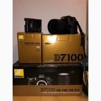 Nikon D7100 Цифровая зеркальная фотокамера с объективом 18-140 мм