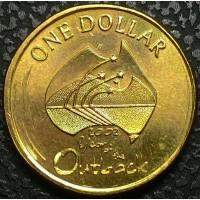 Австралия 1 доллар 2002 год ОТЛИЧНОЕ СОСТОЯНИЕ