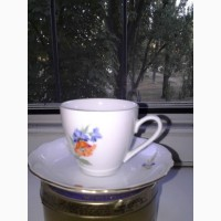 Две кофейные чашки Bohemia