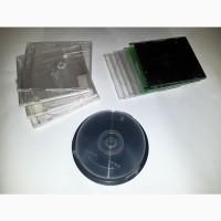 Коробки для CD дисков (9 штук, б.у.)