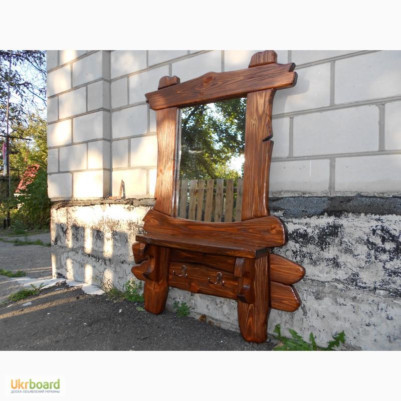 Зеркало под старину своими руками из дерева 49