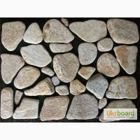 Песчаник галтованный (различные природные оттенки)