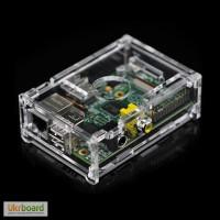 Корпус для Raspberry Pi B прозорий