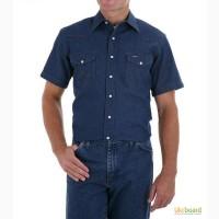 Джинсовые рубашки с коротким рукавом Wrangler (США)