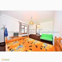1к. квартира в центре Ялты, пентхаус с панорамным видом, мангалом