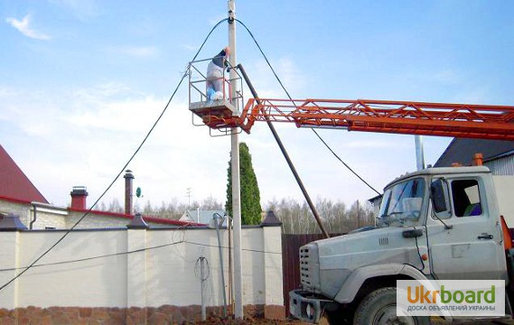 монтаж неизолированных проводов для воздушных линий электропередачи