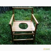Удобный деревяный стульчик-кресло для туалета, горшок для взрослого человека