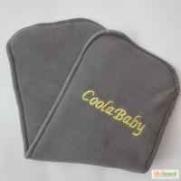Вкладышы/Вкладки ТМ Coolababy бамбуково-вугільні 4- х шарові