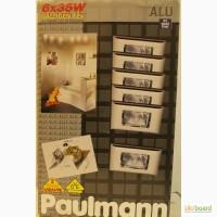 Продам набор встроенных светильников Paulmann, Quadro, на 6 точек, квадратные, хром