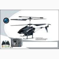 Вертолет аккум. р/у, камера, в кор. 29 38 8см H01C