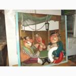 Картина Объёмная Бутафорская «Пираты» сюжет из Мультфильма «Остров Сокровищ» в хорош сост