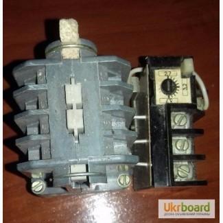 Магнитный пускатель ПМЕ 012 У3В 110в, 3, 2 А с тепловым реле