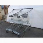 Торговые металлические тележки 80 L, покупательские тележки, тележки для супермаркета