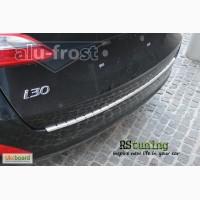 Тюнинг продам накладку на задний бампер Hyundai i30 II Combi 2012+ (DOUBLE)
