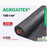 Агроткань Agrojutex мульчирующая черная 100г/м2 длина 100м, ширина от 1.05м до 5.25м