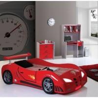 Кровать машина Extra turbo power F1 (красный, свет+звуки)