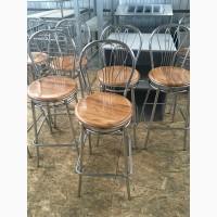 Стул барный б/у сидения из верзалита для ресторанов, баров, кафе